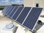 The solar panels with a great view over St. Albert