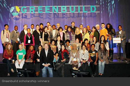 Greenbuild Scholarship Winners
